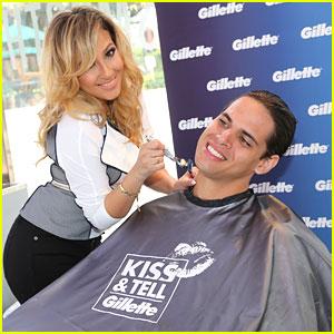 Adrienne Bailon: Kiss & Tell with Gillette in Miami