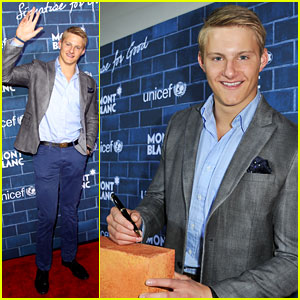 Alexander Ludwig: UNICEF's Signature For Good 2013