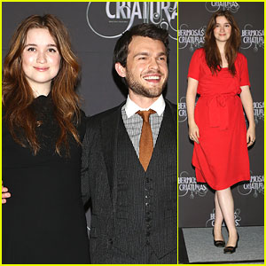 Alice Englert & Alden Ehrenreich: 'Beautiful Creatures' in Mexico
