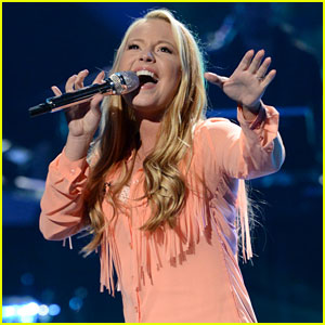 American Idol: Janelle Arthur Sings 'Just a Kiss' - Watch Now!