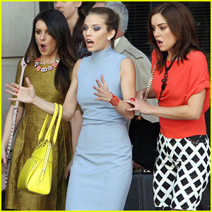 AnnaLynne McCord: '90210' Filming with Shenae Grimes & Jessica Stroup!