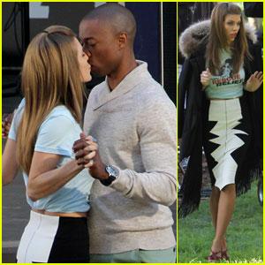 AnnaLynne McCord & Robbie Jones: '90210' Kissing Couple!