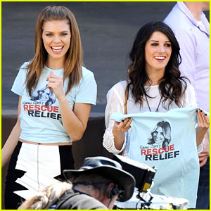 Shenae Grimes & AnnaLynne McCord: Rescue Relief on '90210'