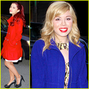 Ariana Grande & Jennette McCurdy: NYC Dinner Duo!
