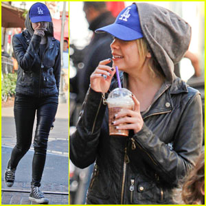 Ashley Benson: Movie at The Grove!