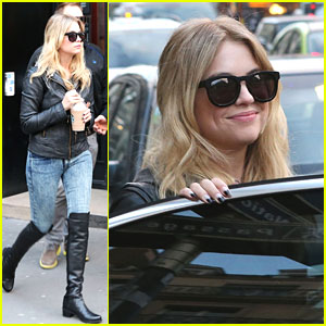 Ashley Benson: Sight Seeing in Paris!
