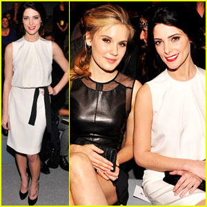 Ashley Greene: Front Row at Kaufmanfranco Fashion Show