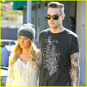 Ashley Tisdale: Lunch Date with Christopher French
