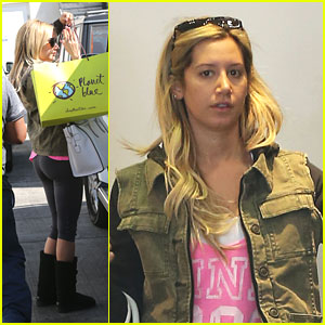 Ashley Tisdale: Planet Blue Stop