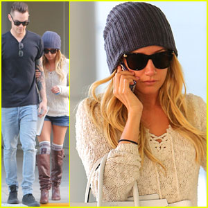 Ashley Tisdale: Urgent Care Visit!