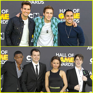 Big Time Rush 'Levels Up' at Hall of Game Awards 2013
