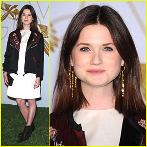 Bonnie Wright: LoveGold's 'How To Survive A Plague' Celebration