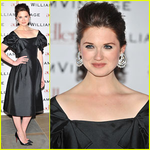 Bonnie Wright: William Vintage BAFTA Dinner