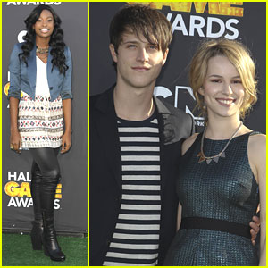 Bridgit Mendler & Shane Harper: Hall of Game Awards 2013 with Coco Jones