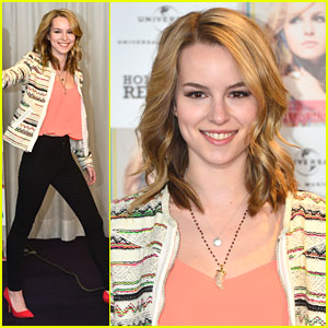 Bridgit Mendler: 'Hello My Name Is...' Photo Call in Madrid