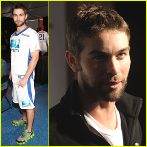 Chace Crawford: Super Bowl Party Stud