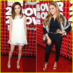 Christian Serratos & Cassie Scerbo: '21 & Over' Premiere Pair