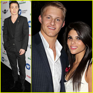 Colton Haynes & Alexander Ludwig: Post-Grammy's Party Goers