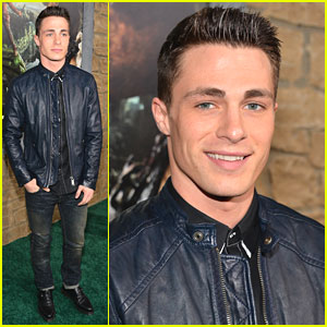 Colton Haynes: 'Jack The Giant Slayer' Premiere