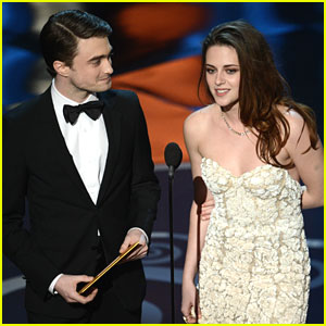 Kristen Stewart & Daniel Radcliffe: Oscars 2013 Presenters
