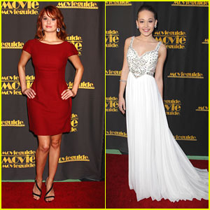 Debby Ryan & Kelli Berglund: MovieGuide Awards 2013
