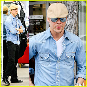 Derek Hough: Dance Shoe Shopping