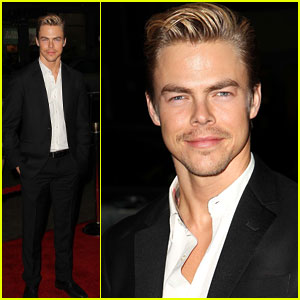 Derek Hough: 'Safe Haven' Premiere