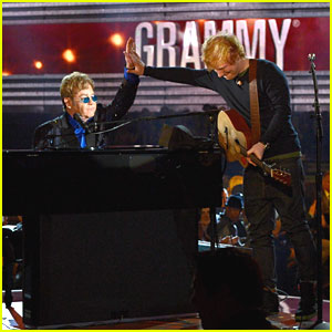 Ed Sheeran & Elton John Perform 'A Team' at Grammys 2013 -- WATCH NOW