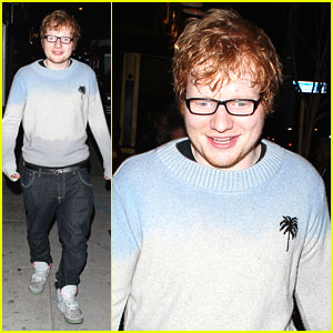 Ed Sheeran: Post Concert Irish Pub Party