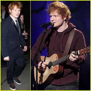 Ed Sheeran: Post-Grammy's 'Conan' Appearance
