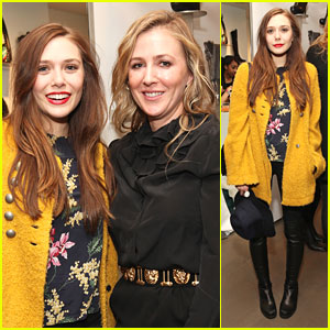 Elizabeth Olsen: Cher Coulter Capsule Collection Launch