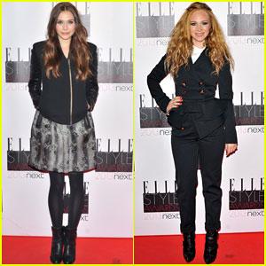 Elizabeth Olsen & Juno Temple: Elle Style Awards 2013