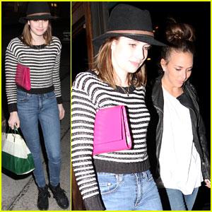 Emma Roberts & Chloe Green: Madeo Dinner Mates