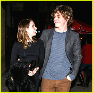 Emma Roberts: Valentine's Day Dinner with Evan Peters