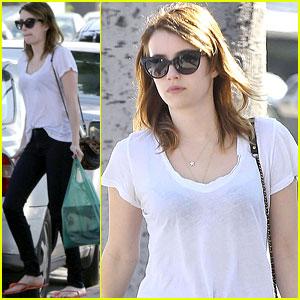 Emma Roberts: I Love The Show 'Girls'!