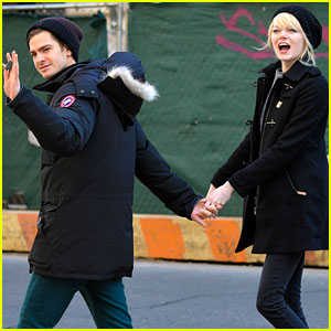 Emma Stone & Andrew Garfield: NYC Breakfast Date!