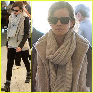 Emma Watson: Later, LA!
