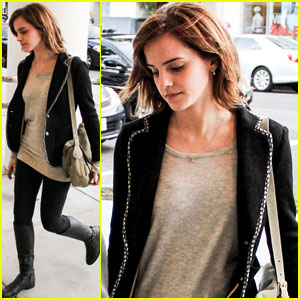 Emma Watson: 'Perks of Being a Wallflower' Out on DVD!