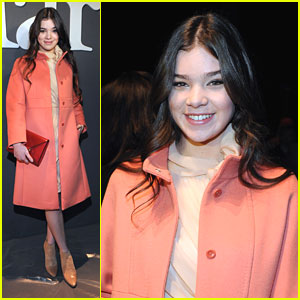 Hailee Steinfeld: Max Mara's Face of the Future Recipient!