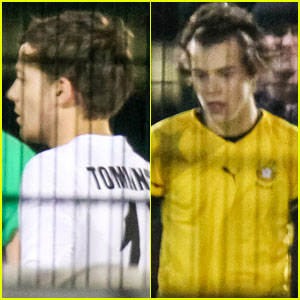 Harry Styles & Louis Tomlinson: Soccer Guys!