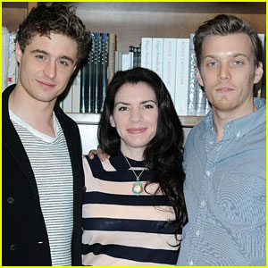 Jake Abel & Max Irons: 'The Host' Book Signing with Stephenie Meyer