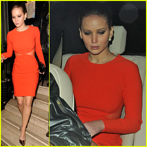 Jennifer Lawrence: Lovely London Lady!