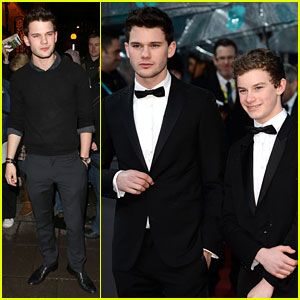 Jeremy Irvine - BAFTAs 2013 Red Carpet