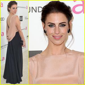Jessica Lowndes: Vanity Fair Oscar Party 2013