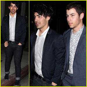 Joe and Nick Jonas: Topshop Topman LA Opening Party