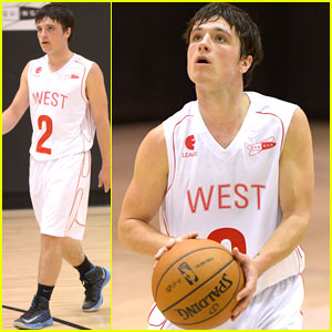 Josh Hutcherson: Celebrity Basketball Game!