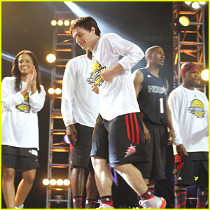 Josh Hutcherson: NBA All-Star Celebrity Game 2013