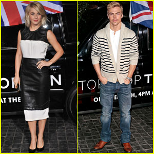 Julianne & Derek Hough: Topshop Topman LA Opening Party