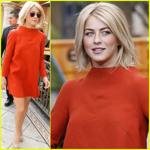 Julianne Hough: 'Extra' Appearance at The Grove!