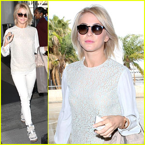 Julianne Hough: Off To Nashville!
